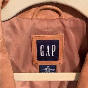 Genuine leather jacket from GAP